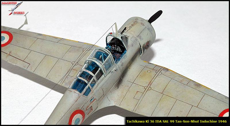 [FUJIMI] Tachikawa Ki 36 Armée de l'Air Photo1009