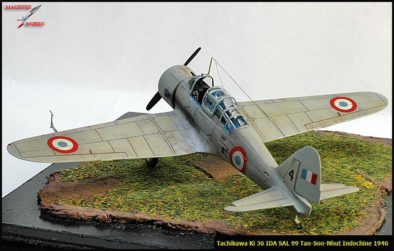[FUJIMI] Tachikawa Ki 36 Armée de l'Air Photo1014