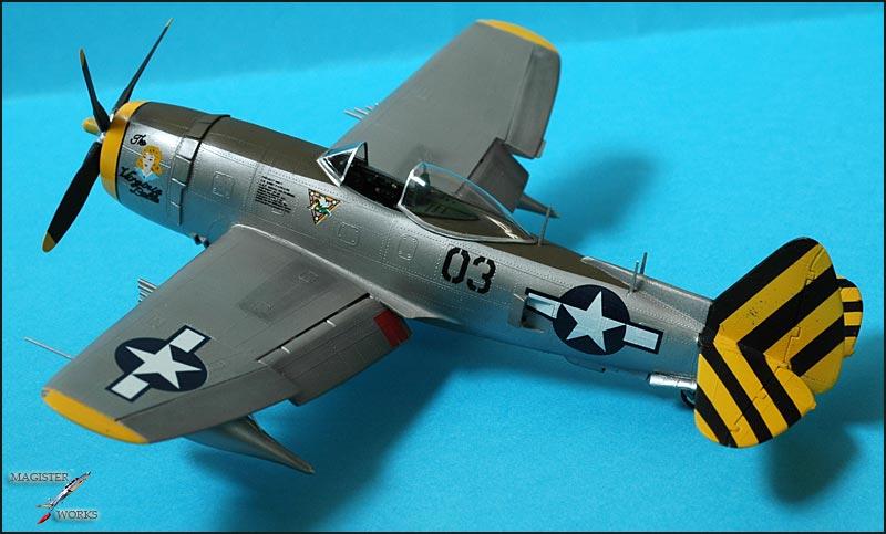 Republic P-47N Thunderbolt Heller 1/72 Photo33