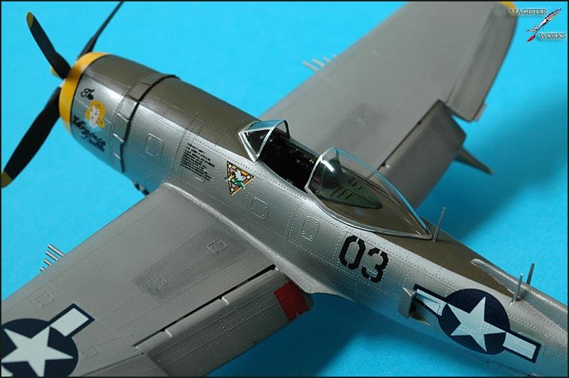 Republic P-47N Thunderbolt Heller 1/72 Photo34