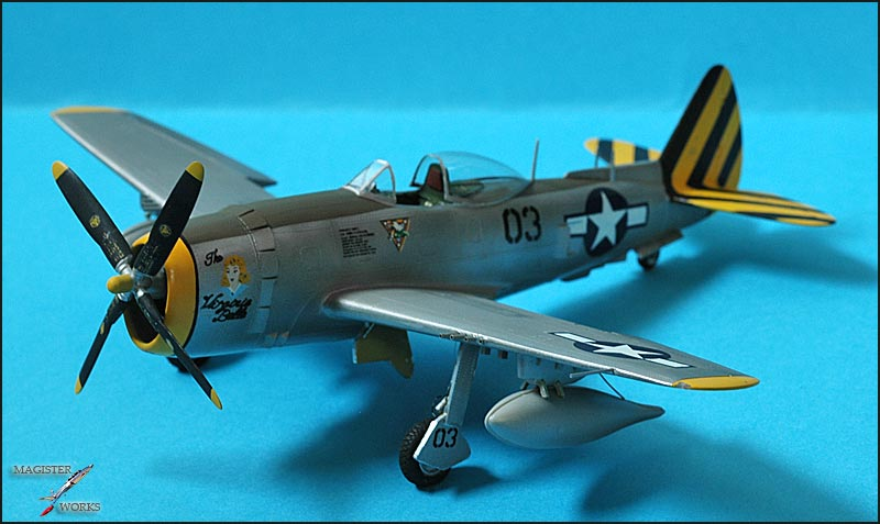 Republic P-47N Thunderbolt Heller 1/72 Photo37